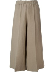 Antonio Marras Cropped Trousers Nude And Neutrals