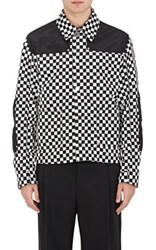 Givenchy Men's Checked Boxy Jacket No Color
