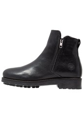Sneaky Steve Code Ankle Boots Black