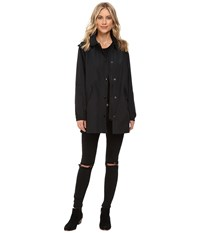 Obey Lafayette Mac Jacket Black Women's Coat