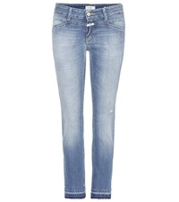 Closed Starlet Cropped Skinny Jeans Blue