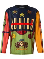 Jean Paul Gaultier Vintage Printed Top Multicolour