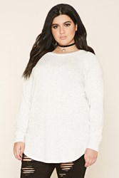 Forever 21 Plus Size Marled Knit Tunic