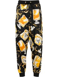 Moschino Perfume Bottle Print Track Pant