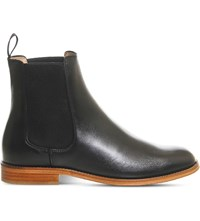 Office Belle Leather Chelsea Boots Black Leather
