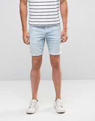 Minimum Samden Shorts In Light Blue Blue