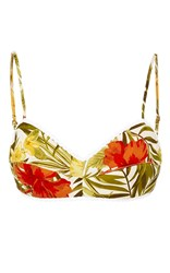 Miguelina Tropical Bralette Print
