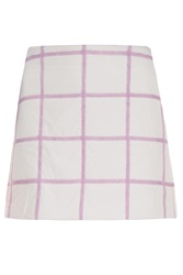 3.1 Phillip Lim Grid Puffa Skirt