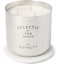 Tom Dixon Royalty Large Scented Candle Silver