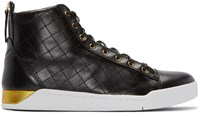 Diesel Black Diamond High Top Sneakers