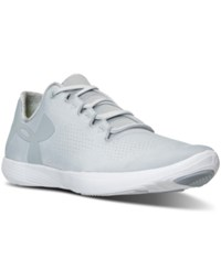 Under Armour Women's Street Precision Low Running Sneakers From Finish Line Grey White
