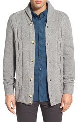 Men's Ben Sherman 'The Cable' Shawl Collar Cardigan