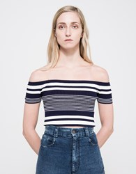 Which We Want Paradise Sweater Top Navy
