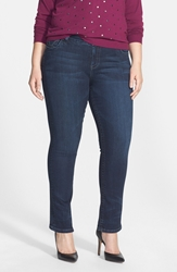 Kut From The Kloth 'Stevie' Straight Leg Jeans Progressive Plus Size Online Only
