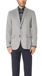 Theory Tobius Reish Jacket Heather Grey