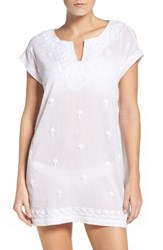 Tommy Bahama Women's Cover Up Dress White