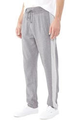 Alternative Apparel Men's Alternative 'Tuxedo' Organic Cotton Blend Sweatpants