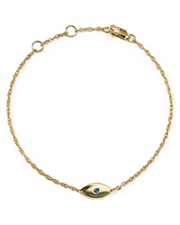 Jennifer Zeuner Jewelry Jennifer Zeuner Nazar Mini Evil Eye Bracelet Gold