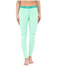 Marmot Thermalclime Sport Tight Green Frost Women's Casual Pants Navy
