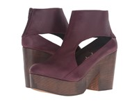 Free People Horizon Clog Wine Women's Clog Shoes Burgundy