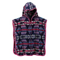 Pendleton Jacquard Hooded Towel Lilac