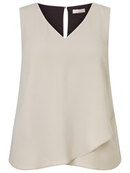 Windsmoor Layered Jersey Top Mid Neutral