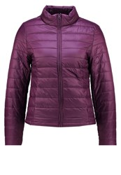 Stefanel Light Jacket Bordeaux