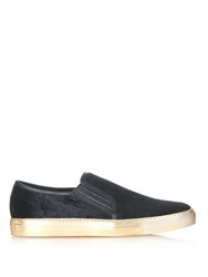 Balmain Calf Hair Skate Shoes