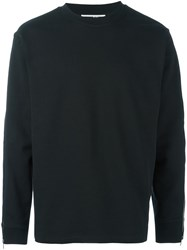 Mcq By Alexander Mcqueen Zip Side Sweatshirt Black