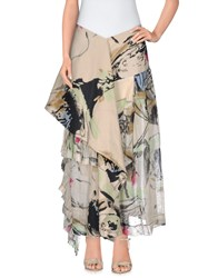 Marni Long Skirts Beige