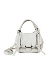Kooba Mini Jonnie Leather Crossbody Stone