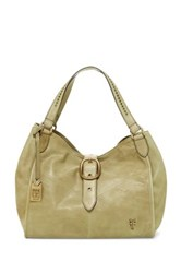 Frye Belle Bohemian Leather Handbag Green