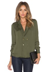 L'academie The Military Blouse Olive