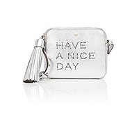 Anya Hindmarch Women's Have A Nice Day Crossbody Silver