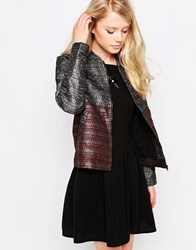 Jovonna Resonate Bomber Jacket Multi