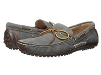 Polo Ralph Lauren Wyndings Tan Charcoal Grey Smooth Oil Leather Sport Suede Men's Shoes Gray