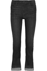 Frame Le High Straight Leg Jeans Charcoal
