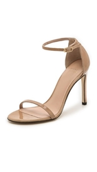 Stuart Weitzman Nudistsong 90Mm Sandals Adobe