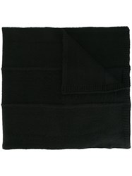 Stone Island Knitted Scarf Black