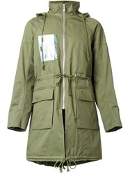 Christian Dada Military Parka Green
