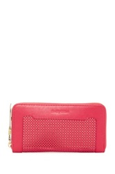 See By Chloe Erin Smart Zipped Wallet Pink