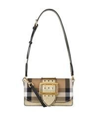 Burberry Shoes And Accessories House Check Trim Buckle Bag Female Yellow