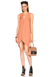 Rick Owens Cady Kite Tunic In Orange