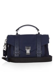 Proenza Schouler Ps1 Classic Nylon Cross Body Bag Blue