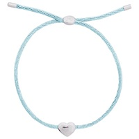 Joma Kiko Silver Plated Heart Friendship Bracelet