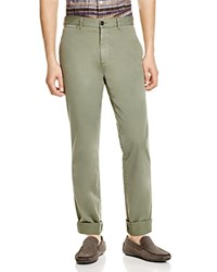 Billy Reid Leonard Slim Fit Chino Pants Basil