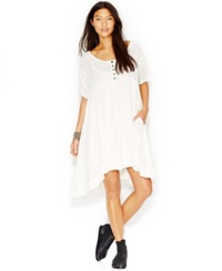 Free People Summer Winds Cotton Handkerchief Hem Dress