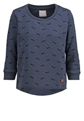 Only Onlsublime Sweatshirt Ombre Blue Blue Grey