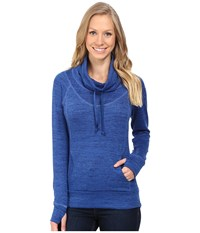 Kuhl L A Pullover Sapphire Women's Long Sleeve Pullover Blue