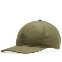 Wings Horns Reverse Twill 6 Panel Cap Green